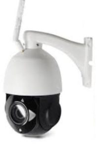IP camera with 80m night light and ptz control, sd card recording