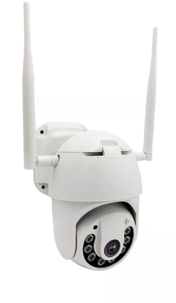 IP CCTV Cameras with PTZ function and night vision for alarm
