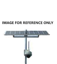 solar kit that include poles, bracket and electric boxes